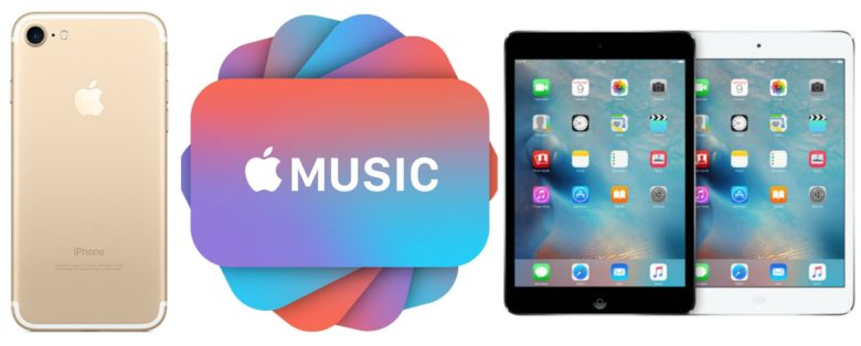 how to get apple music for iphone 7
