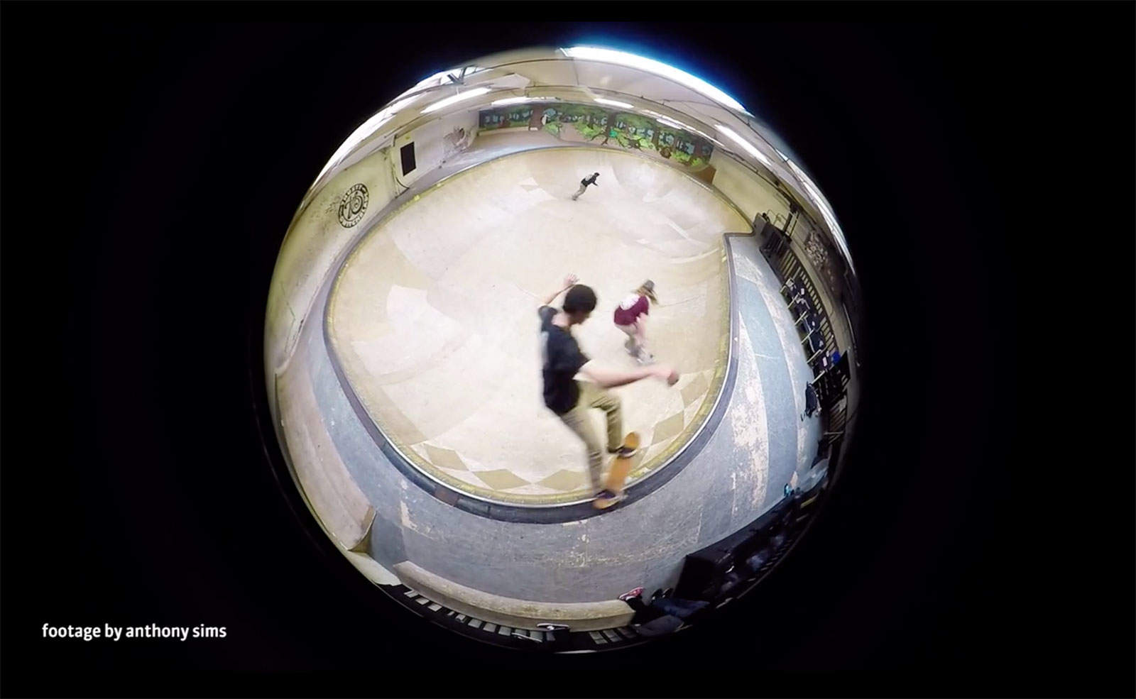 How's that for perspective? Lensbaby gives your GoPro camera a new view.