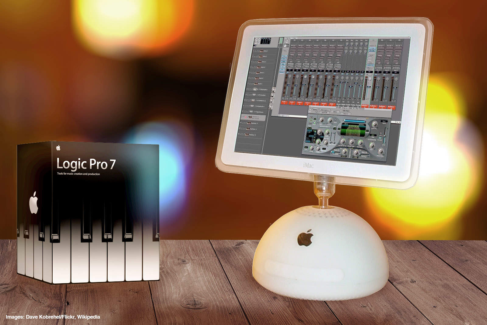 Logic Pro 7 was a great music creation tool for Apple fans.