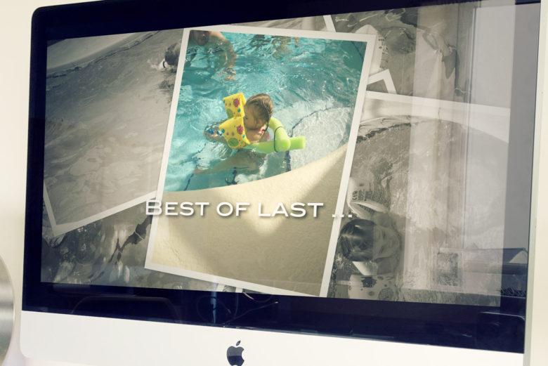 macOS Memories slideshow