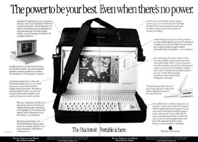 Mac Portable: The first Mac you could carry in a (slightly heavy) bag