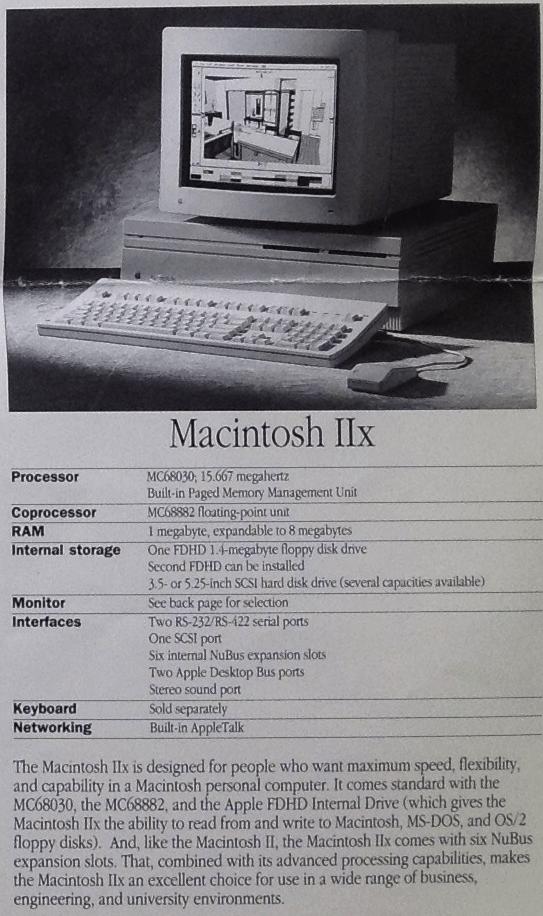 Mac iix