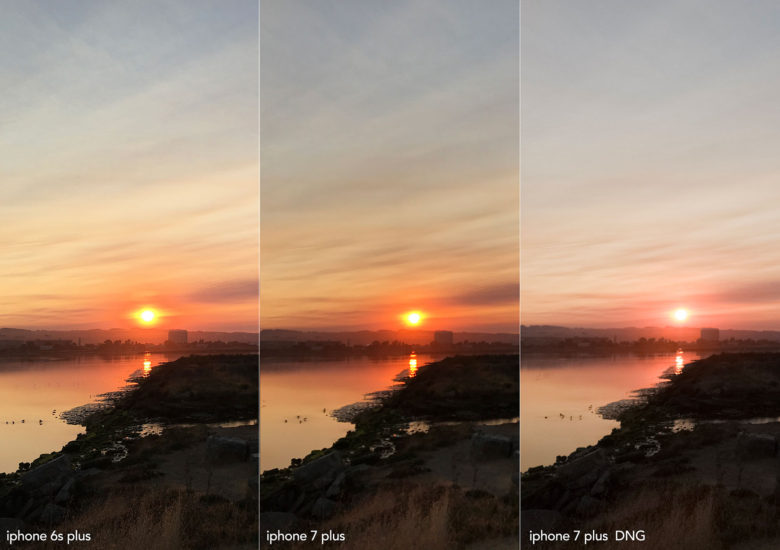 What makes a better sunrise, the iPhone 6s Plus or the iPhone 7s Plus? The photographer sees the difference.