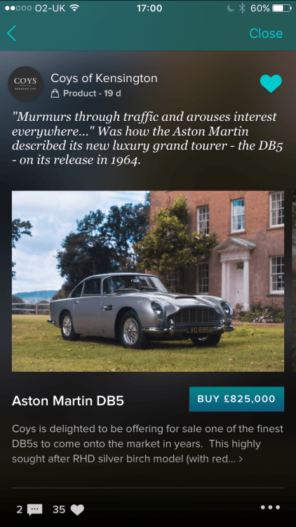 Aston Martin Apple Pay