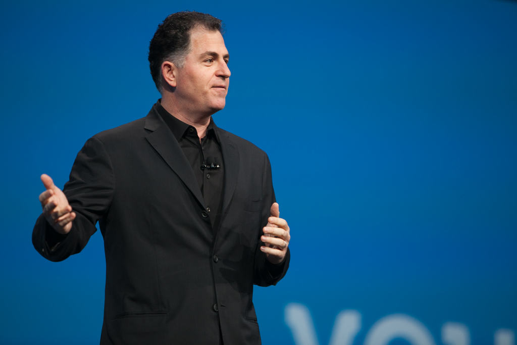 Steve Jobs took issue with Michael Dell's comments about Apple