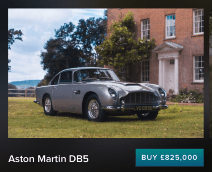 Apple Pay Used To Buy Million Aston Martin DB Cult Of Mac - Aston martin restoration project for sale