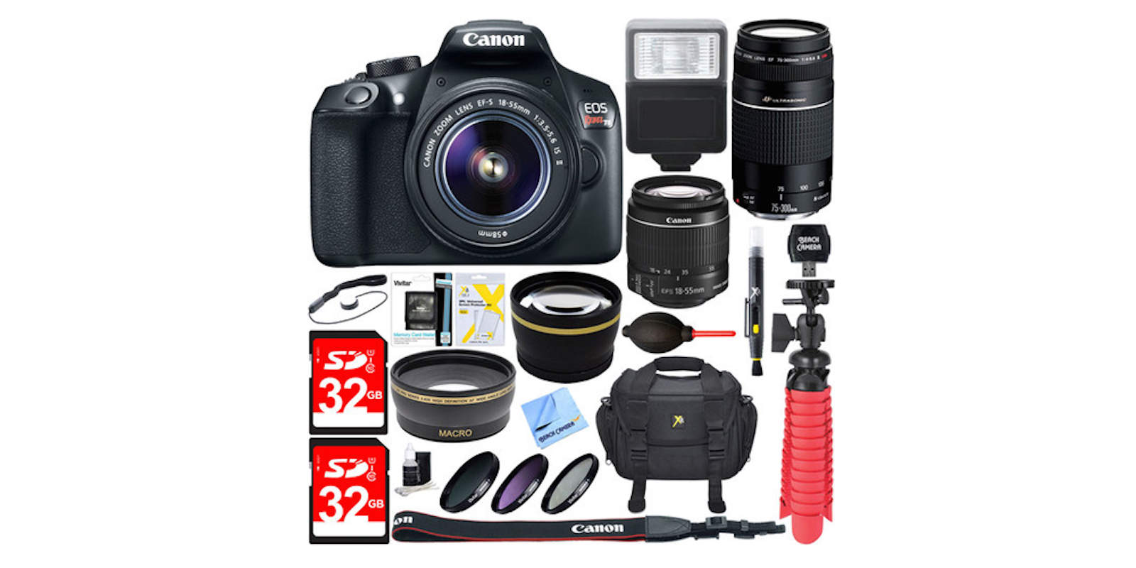 Canon T6 Bundle