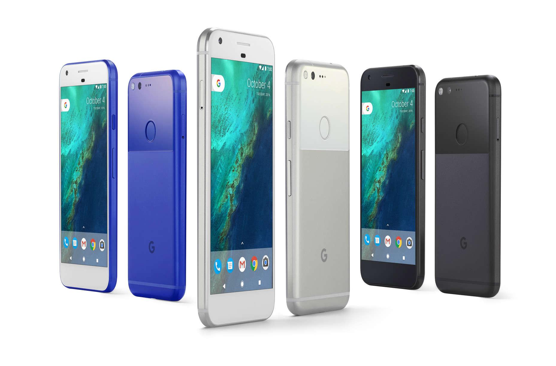 Google Pixel phone family