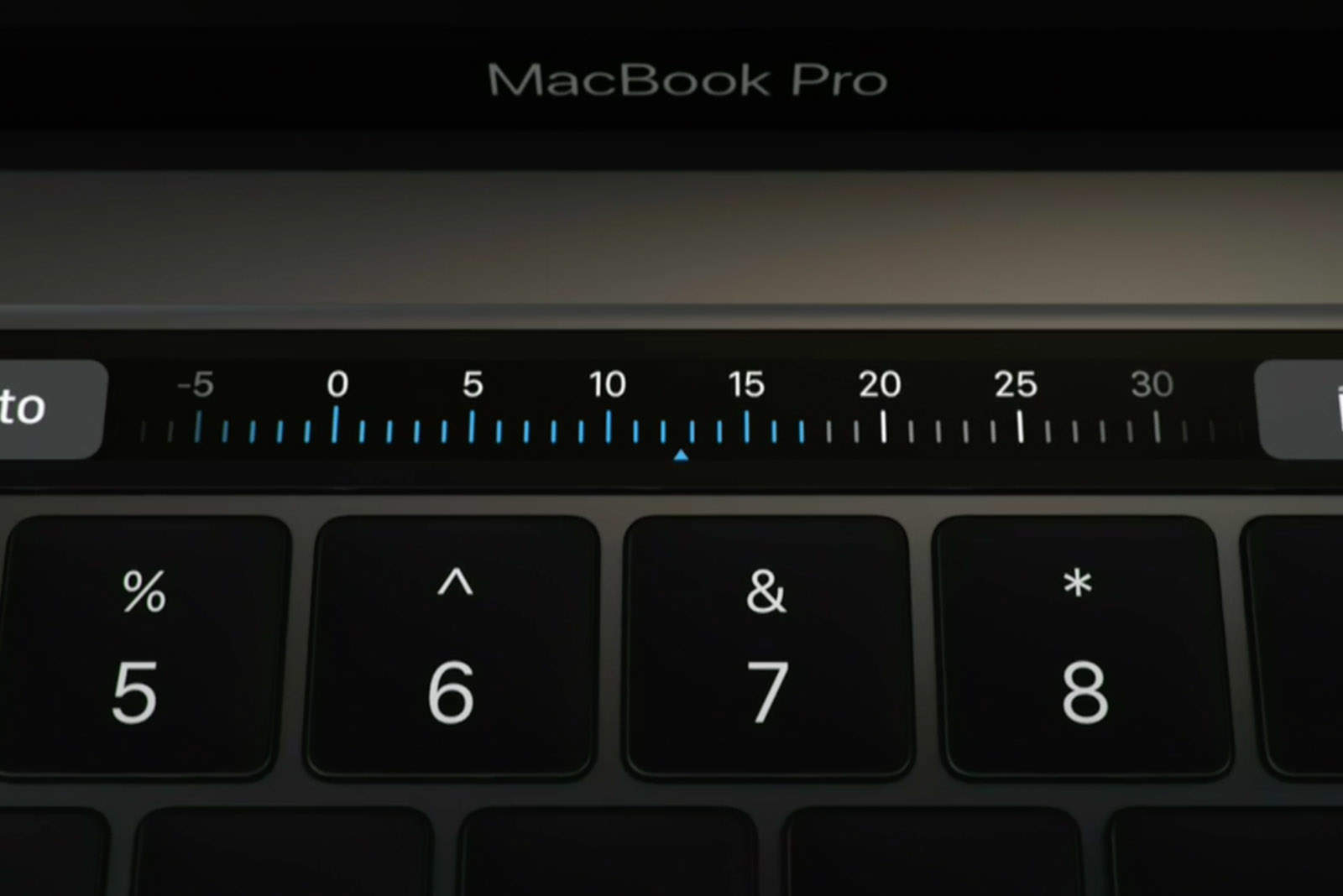 The new MacBook Pro has a bit of iOS inside.