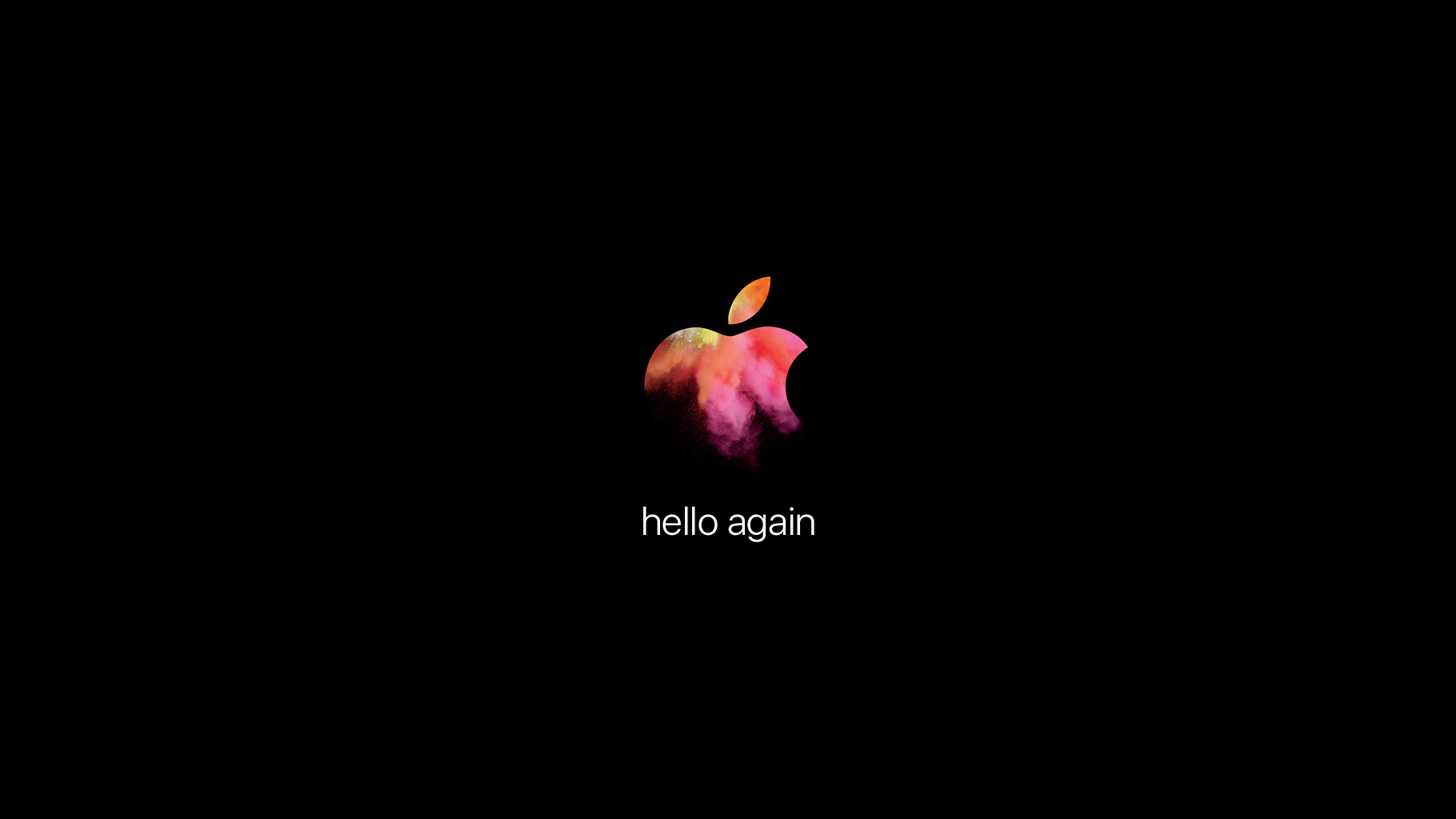 Apple招待状デザイン壁紙 Hello Again 公開 私設apple委員会