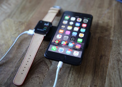Zens' iPhone/Apple Watch Powerbank has a 4,000 mAh capacity, which is good for two full charges of an iPhone 7.