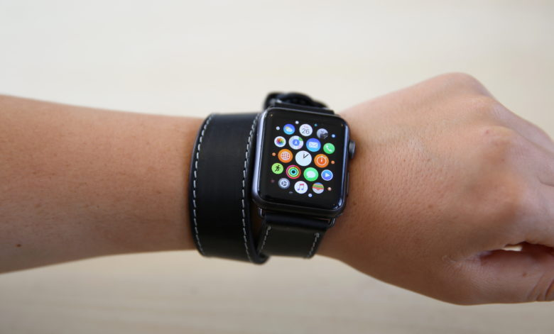 d2ce401b8 ... band with Apple Watch Series 4. OleksynPrannyk The Double Tour ...
