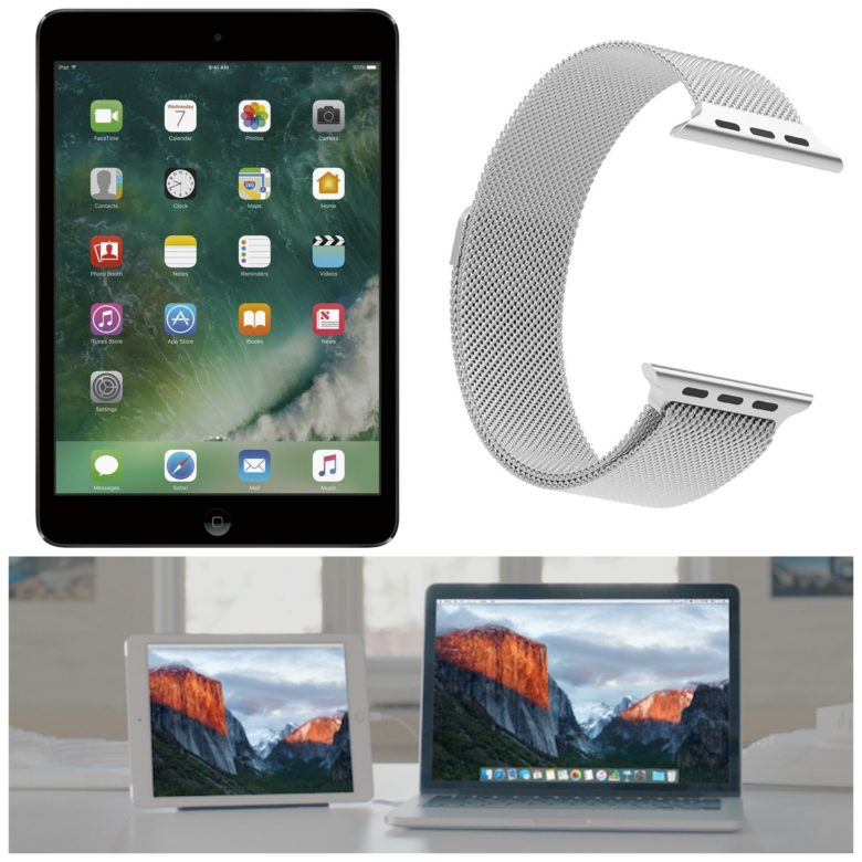 Snag great deals on tiny Apple tablets, a third-party Apple Watch band and an essential iOS app.