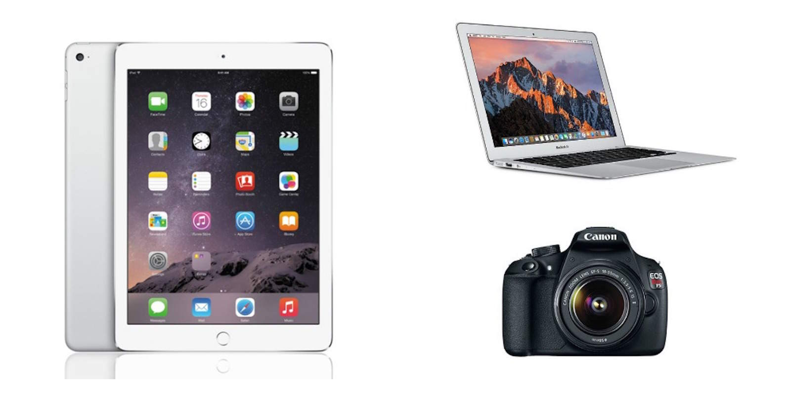 Take advantage of great deals on MacBook Air, iPad 2, and much more.