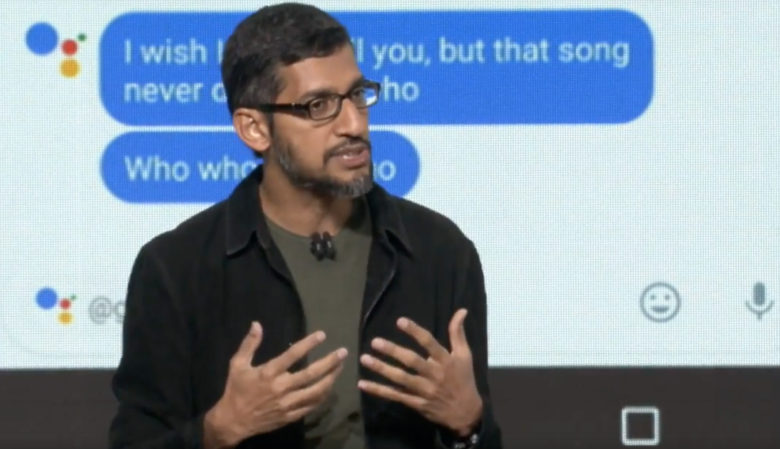 Under CEO Sundar Pichai, Google is betting big on AI.