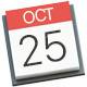 October 25 Today in Apple history