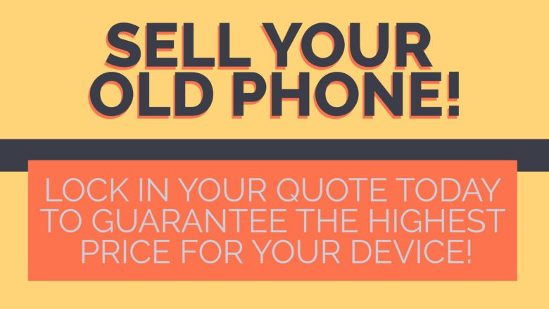 Sell your old iPhone