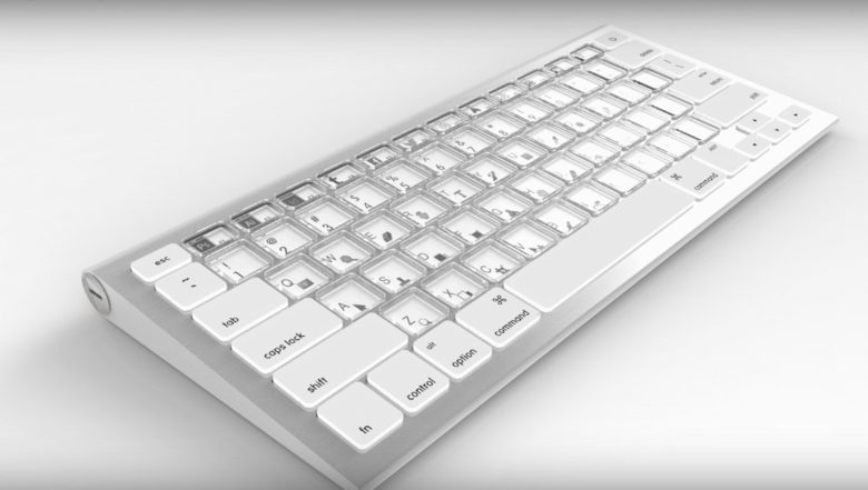 The next Magic Keyboard may look something like this.