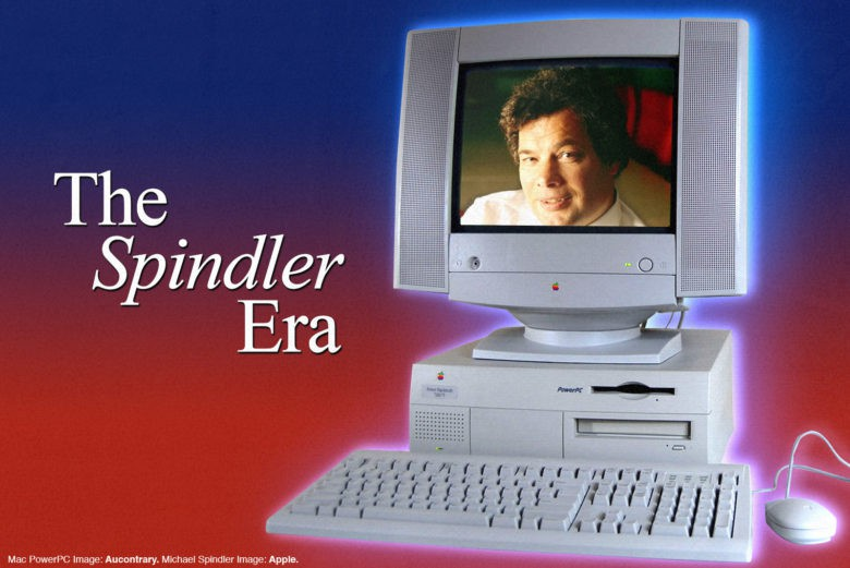 Apple CEO Michael Spindler headed the company during trying times in the 1990s.