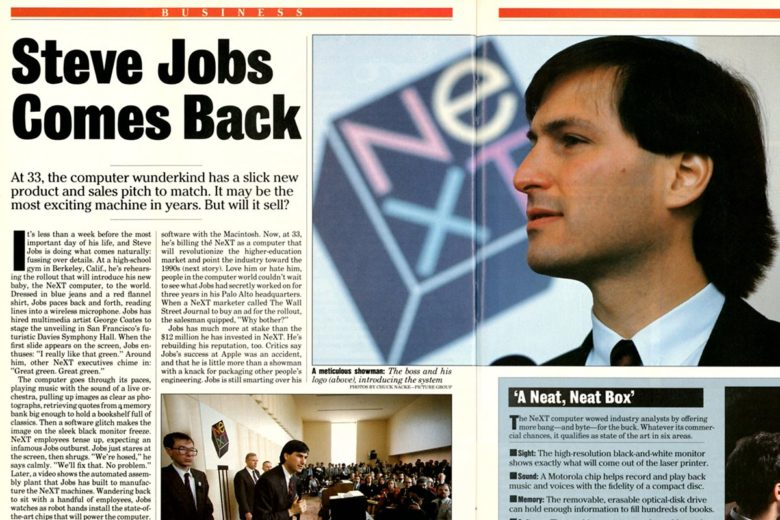 People couldn't wait to discover Steve Jobs' next move at NeXT Computer.