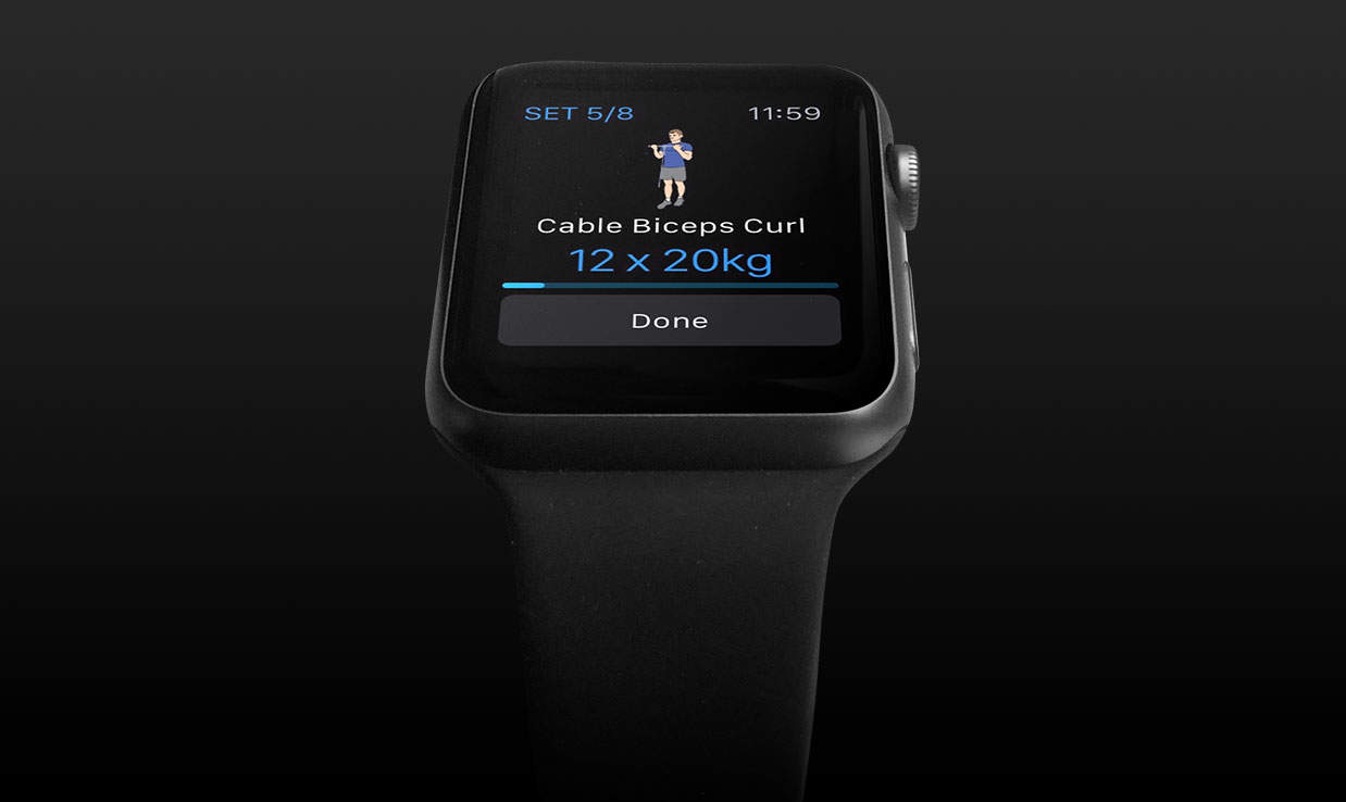 We're hoping our watch app will tempt some users to subscribe