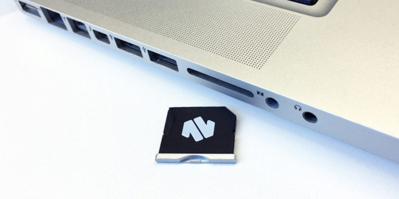 Seamlessly add up to 256GB to your Macbook with this handy MicroSD adapter