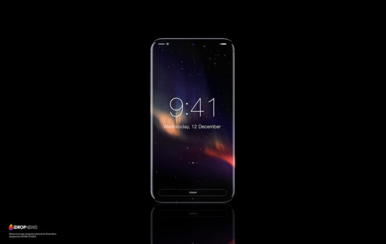 The iPhone would look better without bezels.