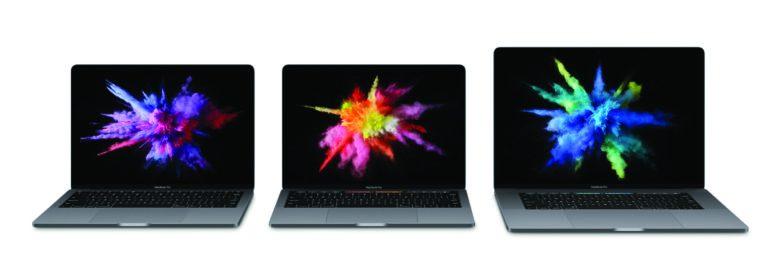 MacBook Pro 2016 family