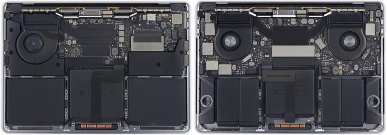 new MacBook Pro comparison