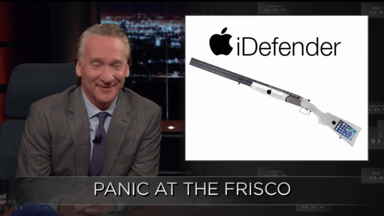 Liberals would love guns if Apple made them.