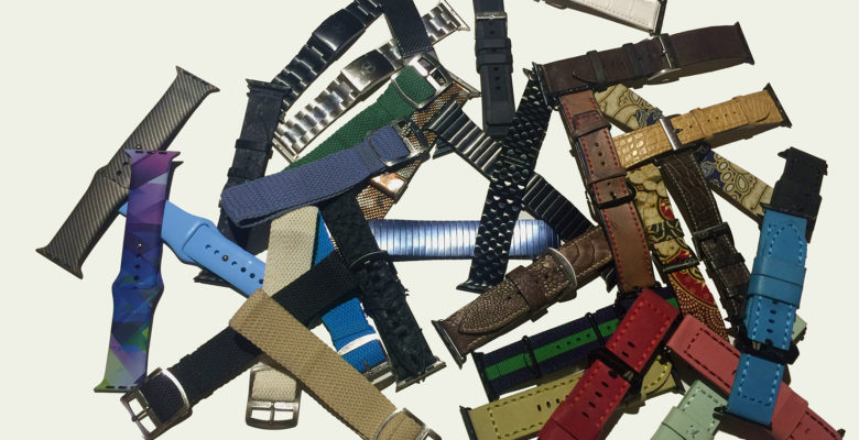 Apple Watch band collectors