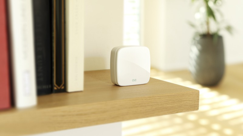 The new Eve Motion sensor can detect when you get home.