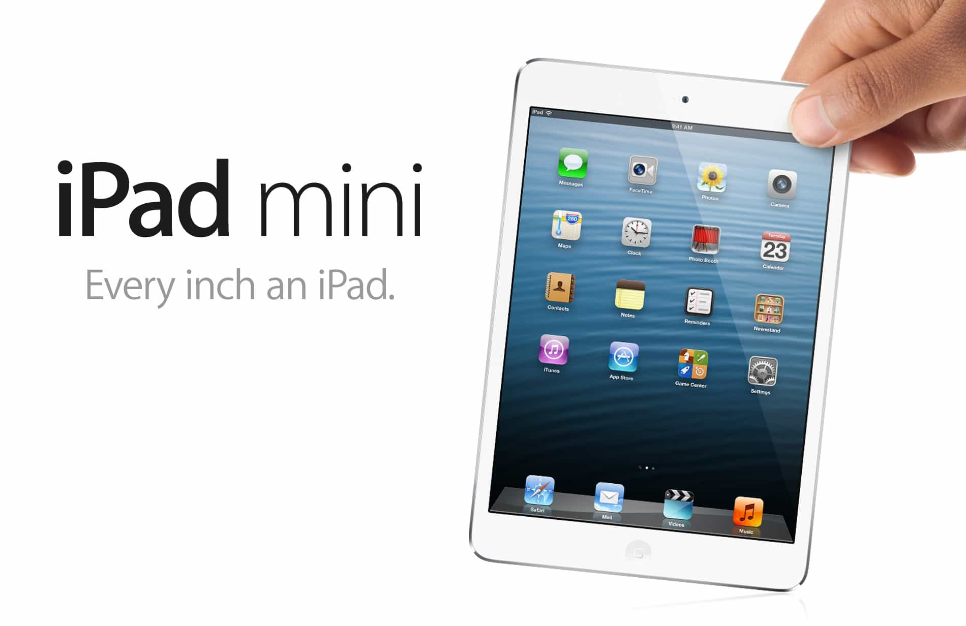 The iPad mini made a big splash for such a tiny device.