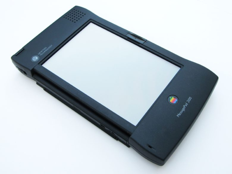 The Newton MessagePad 2100 was the last hurrah for Apple's Newton line.