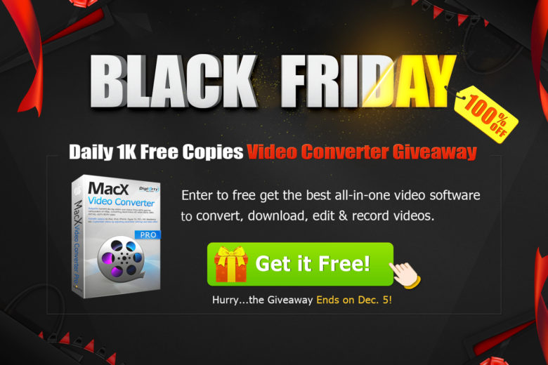 Black Friday giveaway: Get one of the best video converters