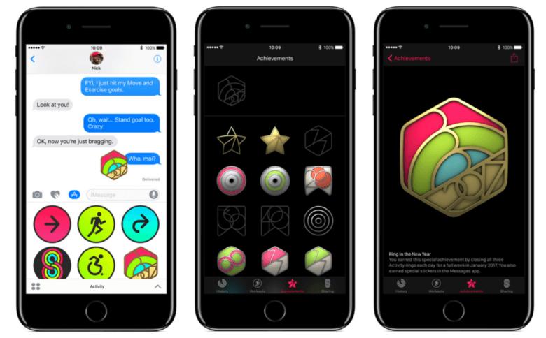 Apple Watch New Year Challenge rewards