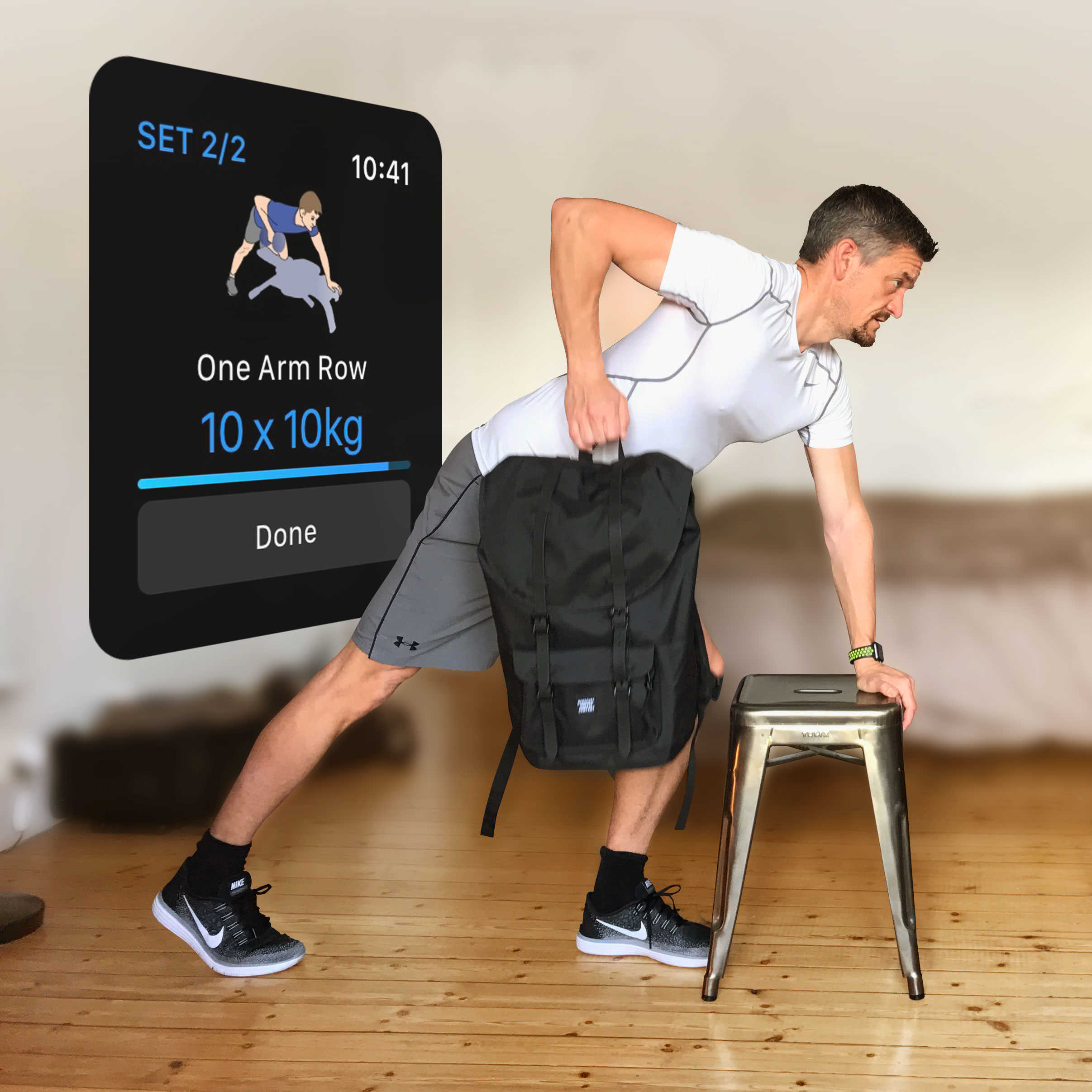 Get fit in the privacy of your own home using everyday objects