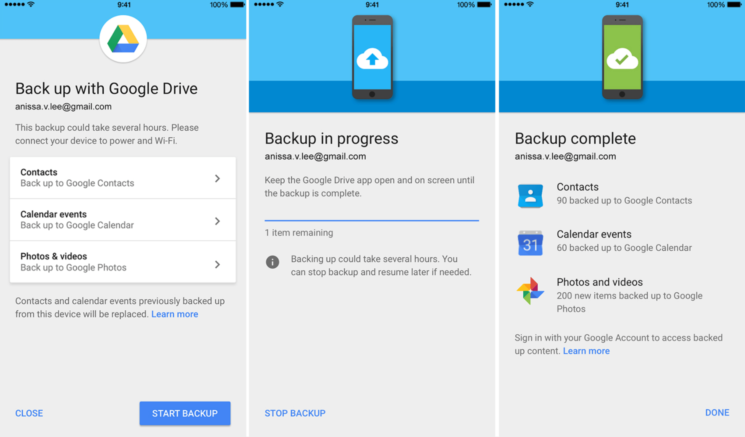 Google-Drive-iPhone-backup