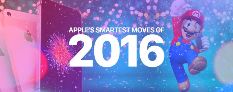 2016 wasn't all missed deadlines and mysterious battery problems for Apple.