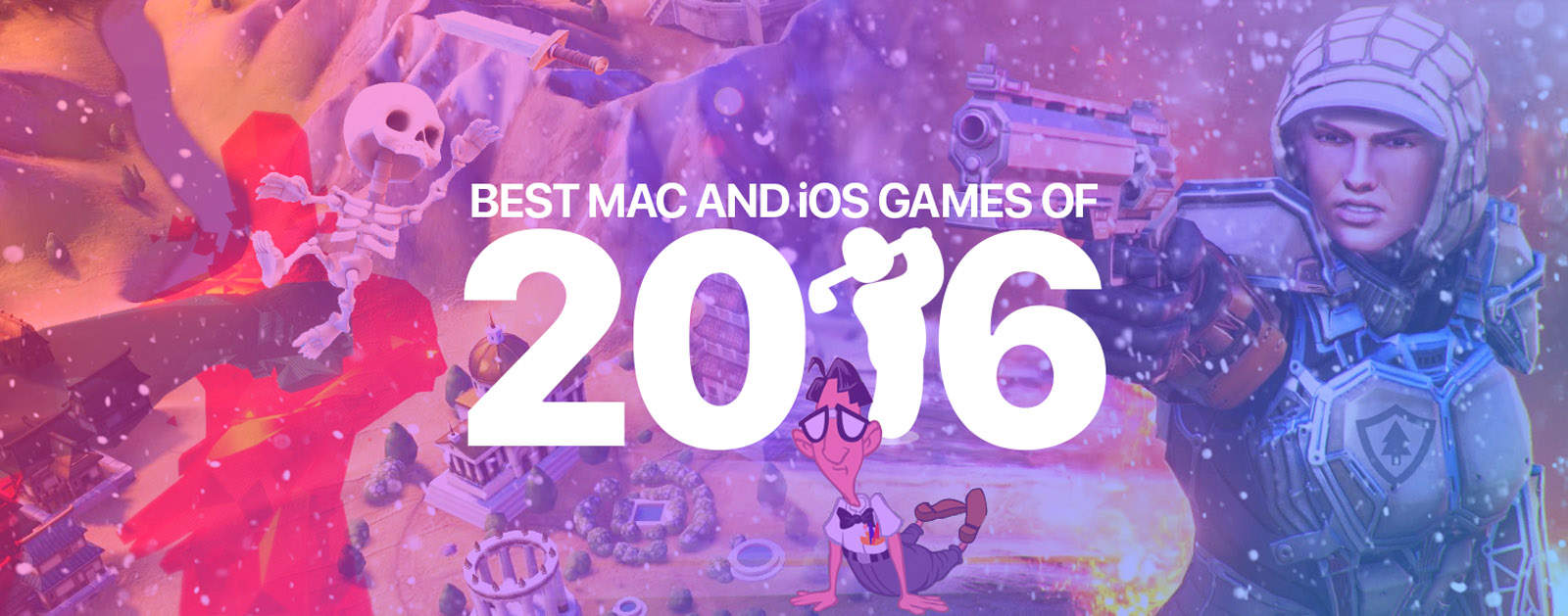 best mac and ios games 2016