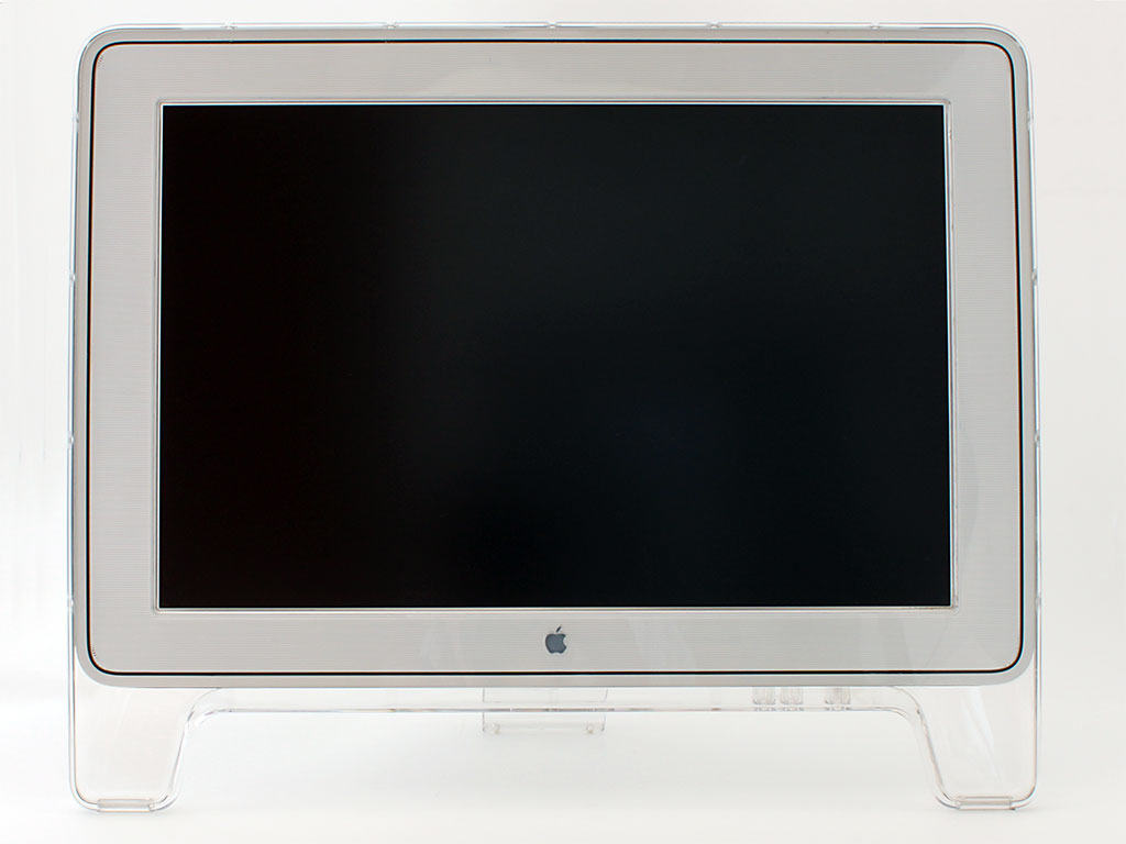 The Cinema Display was Apple's first widescreen monitor.