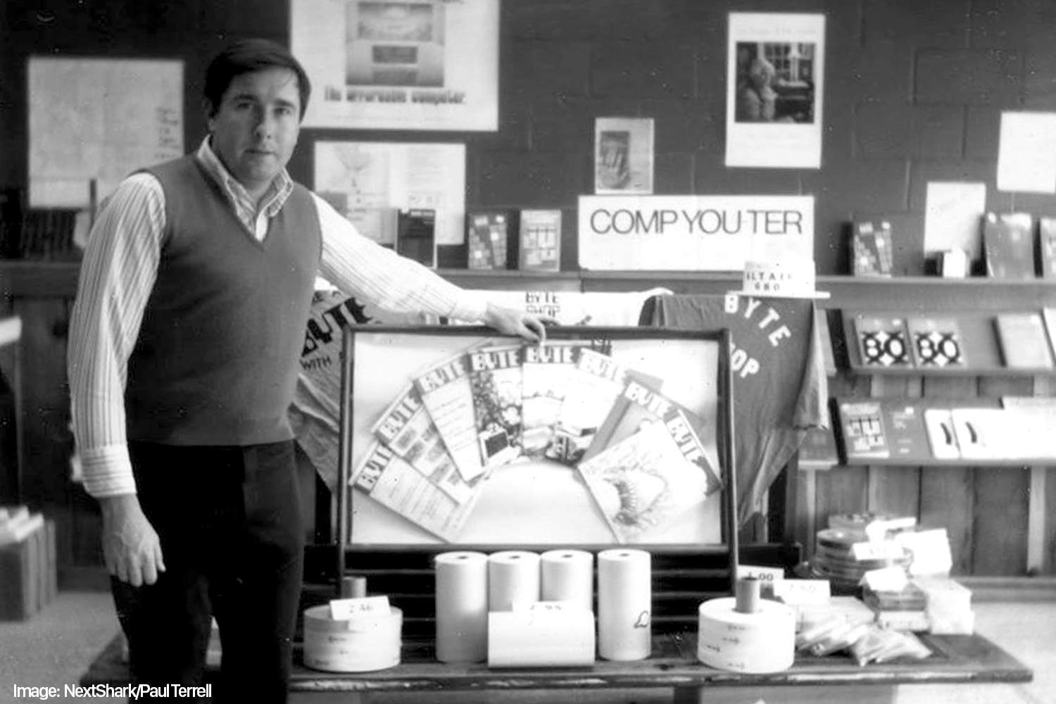 Paul Terrell founded The Byte Shop on his birthday.