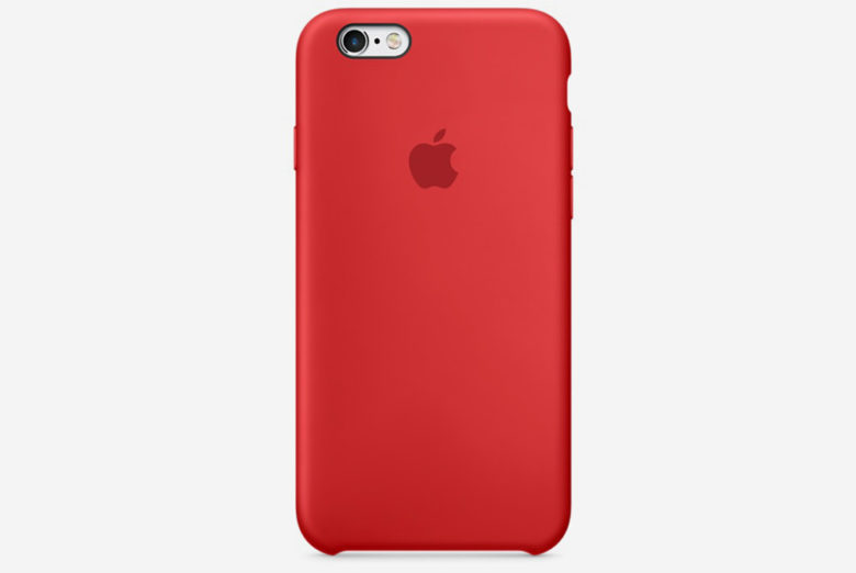 For now, if you want a red iPhone, you have to buy a red case.
