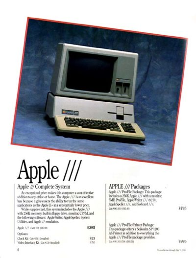 The Apple III in all its (relative) glory.