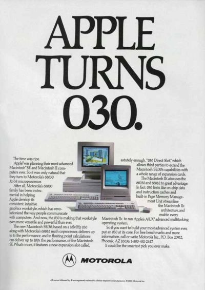 The Mac SE/30 was the speediest Mac around