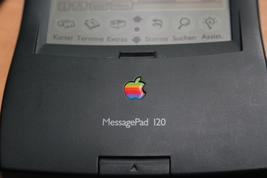 The MessagePad 120 perfects Apple's PDA line.