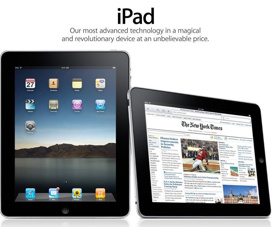 The iPad launch shook up the tech world, with the tablet computer becoming Apple's fastest-selling device.