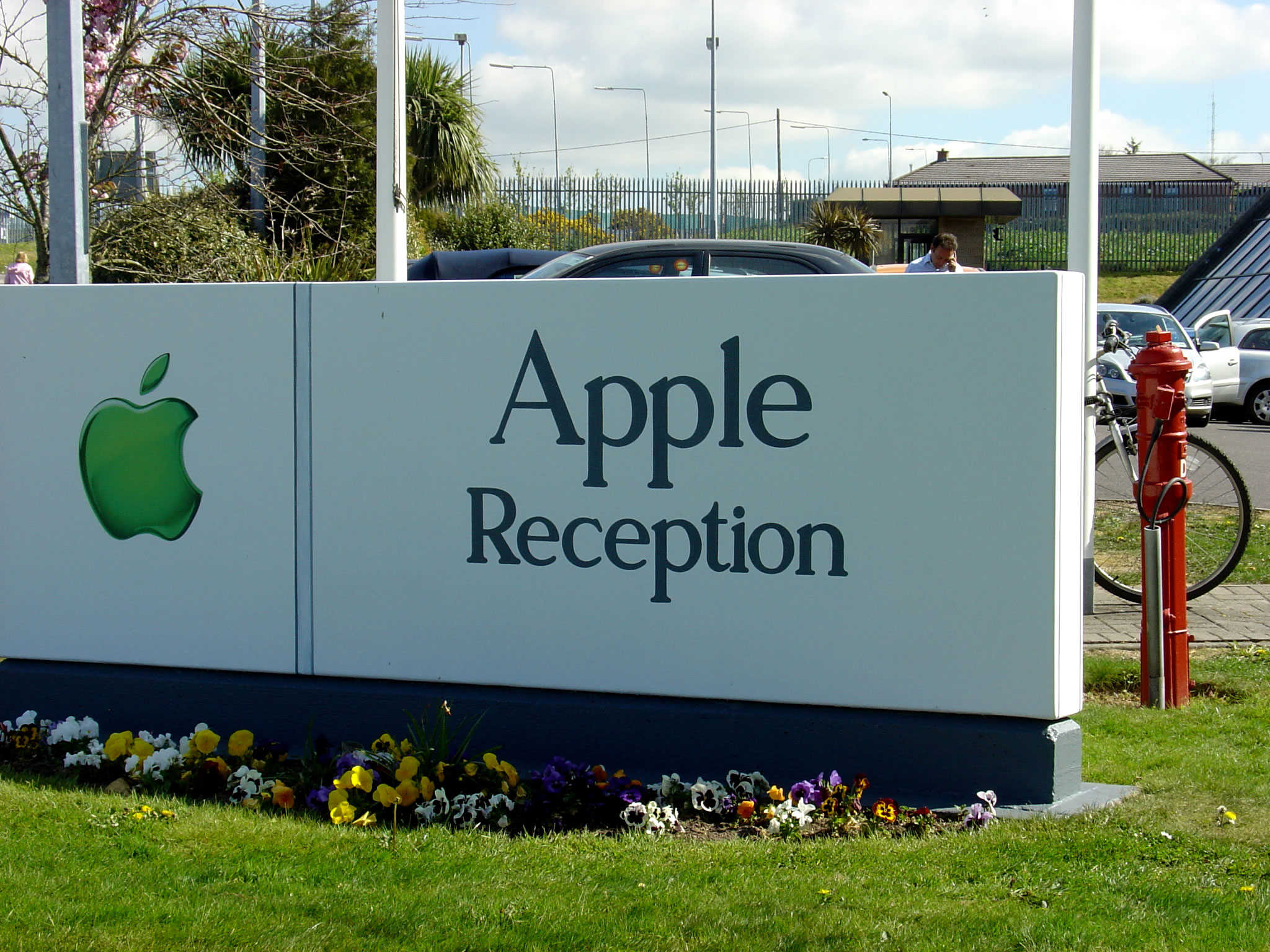 Apple's headquarters in Cork, Ireland.