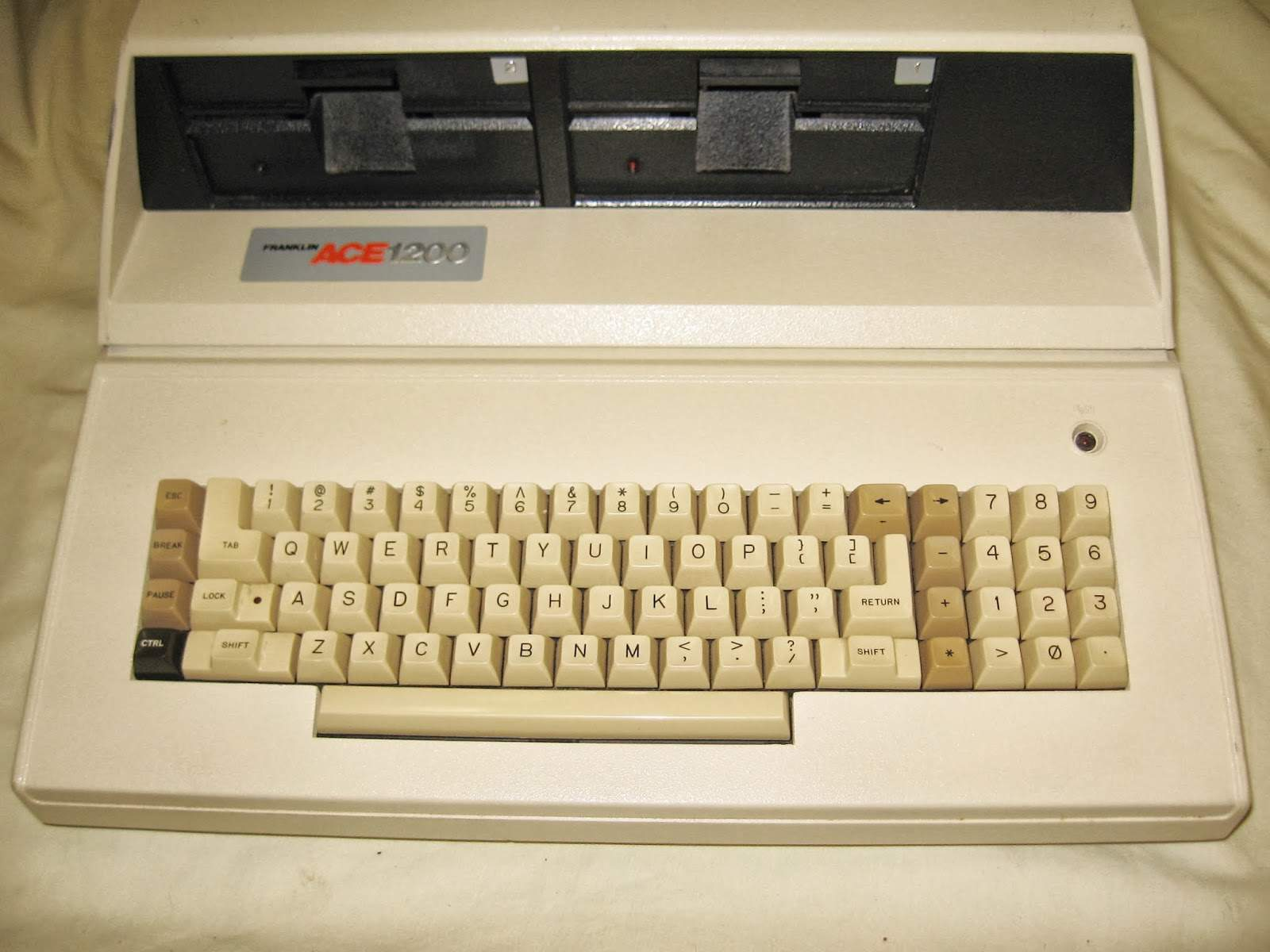The Franklin Ace 1200 was, in some ways, a literal copy of the Apple II.