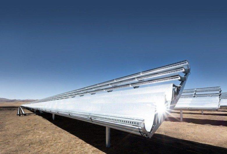 One of Apple's many solar farms.
